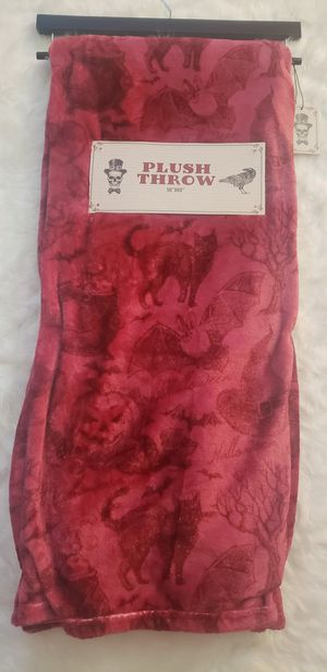 Witch Cauldron Bat Throw Blanket for Sale in Houston, TX