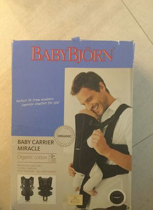 Used, Baby Bjorn baby miracle carrier for Sale for sale  Orlando, FL