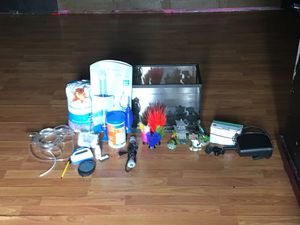 Fish tank set only used one time. for Sale in Taylor, MI