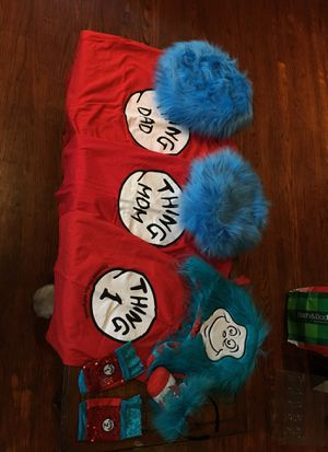 Thing Dad & Mom and Thing 1 Halloween costume for Sale in Pomona, CA
