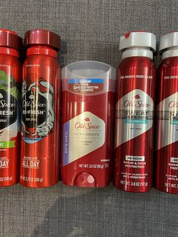 Old Spice Deodorant & Body Spray Bundle Of 5 for $20 for Sale in Queens,  NY