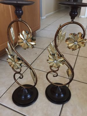 "Metal candle holders 23"" tall for Sale in Surprise, AZ"