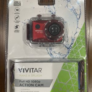 Go Pro Like Full HD Camera Vivitar Waterproof 1080 for Sale in Riverview, MI