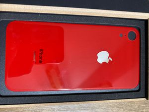iPhone XR back glass replacement (product red) for Sale in San Luis Obispo, CA