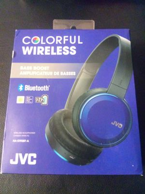 JVC COLORFUL WIRELESS HEADPHONES for Sale in Bell Gardens, CA