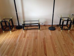 Glass shelves and tables for Sale in MONTGOMRY VLG, MD