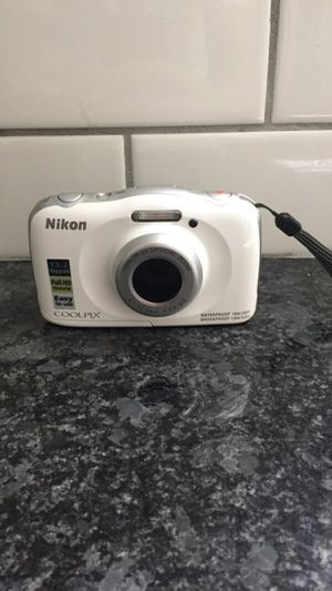 Nikon waterproof digital camera for Sale in NEW PRT RCHY, FL