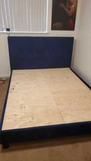 Frame queen size need gone today 70$ for Sale in Carmichael, CA