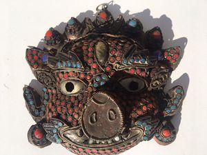 Tibetan mask for Sale in Whittier, CA
