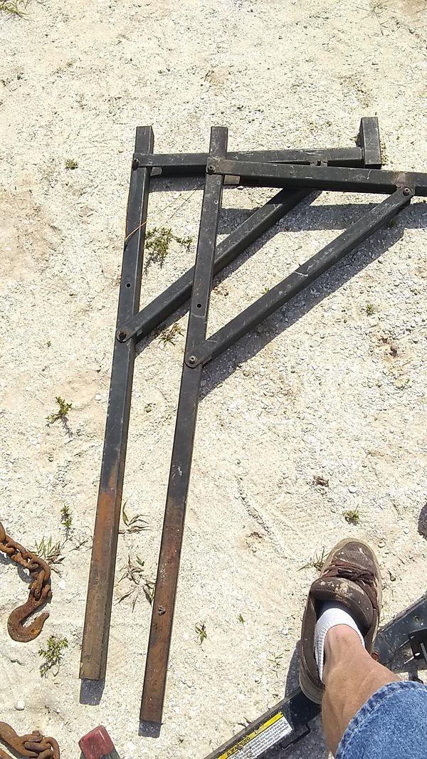 Single-sided ladder rack