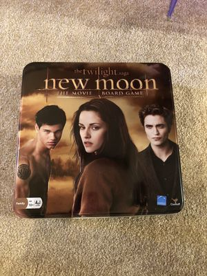 Twilight New Moon Board Game family saga collectors set the movie for Sale in Buena Park, CA
