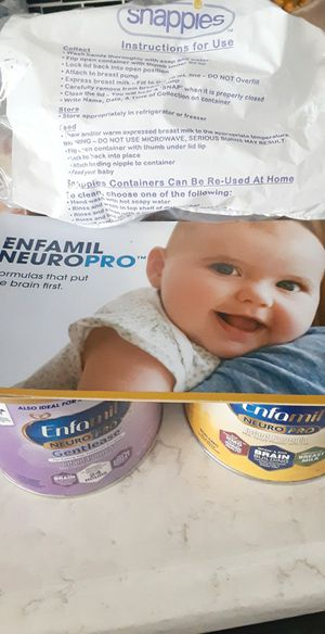 Enfamil Neuro pro and nero pro gentilease8 oz cans(small ones) for Sale in Ontario, CA
