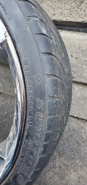254/R20 good tires all 4 for Sale in Rochester, NY