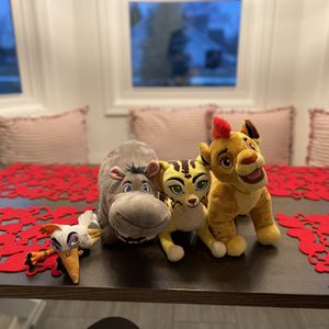 Disney plush Toys - Lion Guatf for Sale in New Lenox, IL
