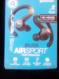 Buds Air Sport Wireless Bluetooth Earbuds I J Lab for Sale in Orange,  CA