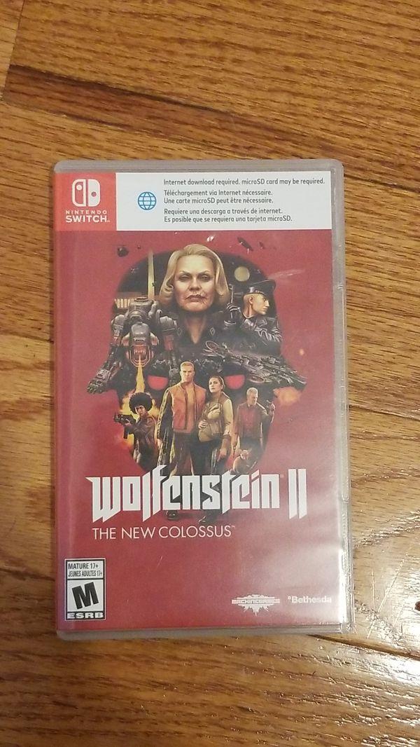 Wolfenstein 2 for switch
