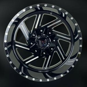 """Brand New 20"""" WCTS 20X12 5x114.3 / 5x127 Black Milled Wheels for Sale in Miami, FL"""