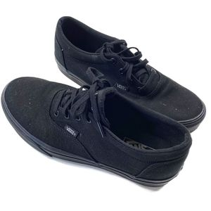 Classic all black vans women's size 10 for Sale in Olympia, WA