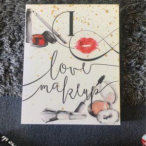 Vanity Makeup Canvas for Sale in Bell Gardens, CA