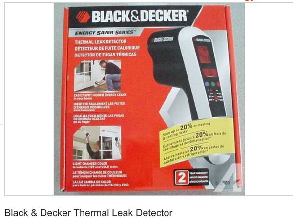 Black and decker thermal leak detector, brand new