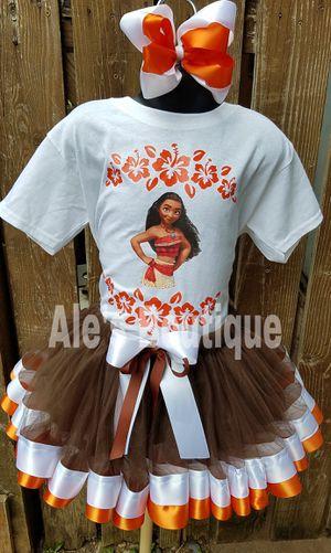 Moana tutu theme for Sale in Puyallup, WA