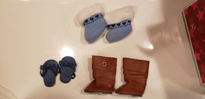 American girl doll shoes lot of 3 for Sale in Downers Grove, IL