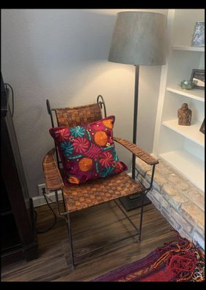 Leather Chair- Vintage Mexican for Sale in Denver, CO
