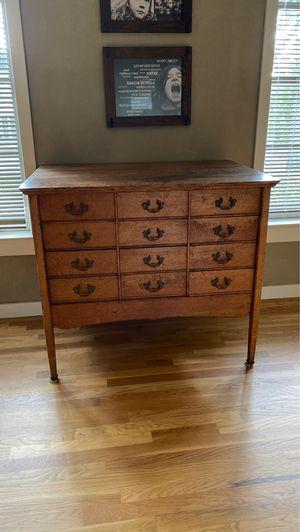 Antique oak sideboard/file cabinet for Sale in Atlanta, GA