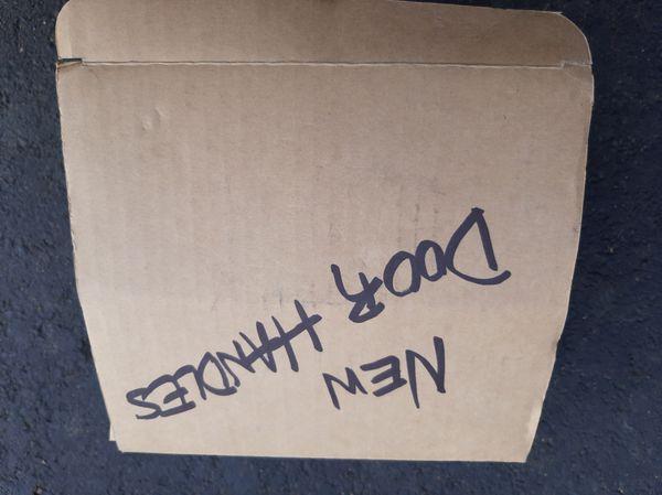 Brand new in the Box heavy duty door handle $39