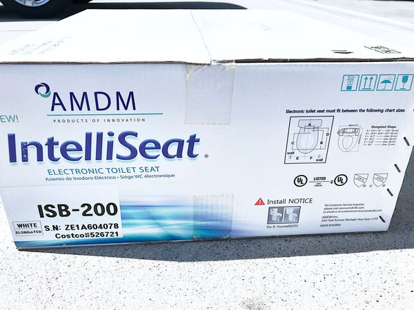 Super Brand New Amdm Intelliseat The Ultimate Bidet Electronic Toilet Seat Isb 200 For Sale In Lake Forest Ca Offerup Dailytribune Chair Design For Home Dailytribuneorg