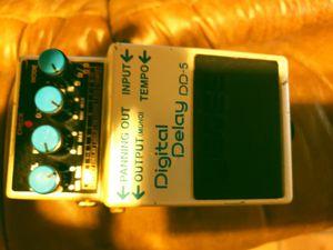 Boss DD5 Digital delay pedal for Sale in Raymond, CA