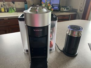 Nespresso Vertuo Coffee Maker with Milk Frother for Sale in Broadway, VA
