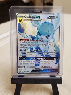 Glaceon GX Pokemon Hidden Fates Shiny Vault for Sale in Everett,  WA