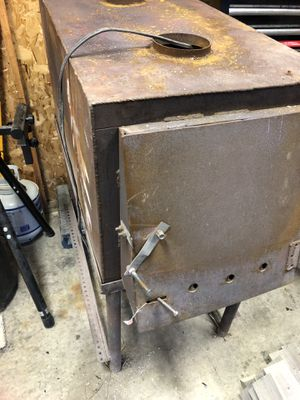 Wood burner with blower for Sale in Huron Charter Township, MI