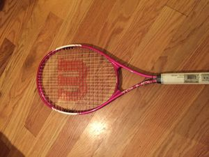 Pink tennis racket for Sale in Brooklyn, NY