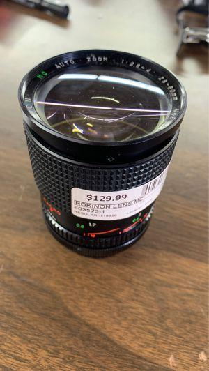 Rokinon lens mc for Sale in Dallas, TX