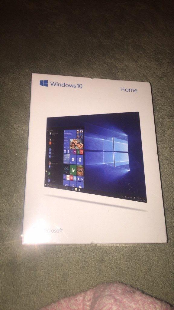 windows 10 unopened