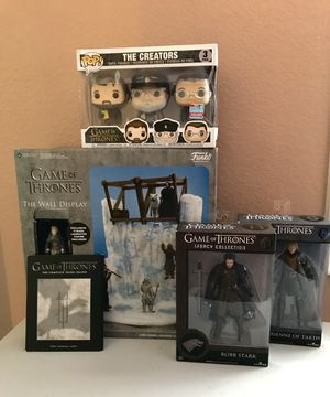Game of Thrones Lot - Toy Figure Set Collection Funko Pop DVD for Sale in Montebello, CA