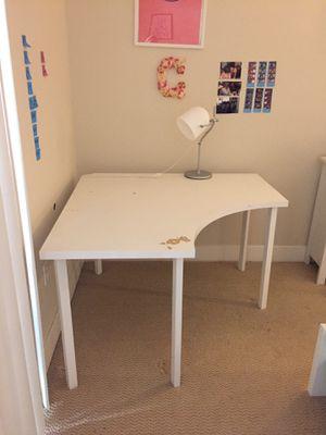 White corner desk for Sale in San Diego, CA