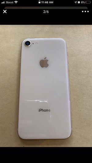 Check out this iPhone 8 64gb gold only for (SPRINT OR BOOST MOBILE) not unlocked so don't ask.(MINT CONDITION) I'm selling for $369 on OfferUp. for Sale in Naperville, IL