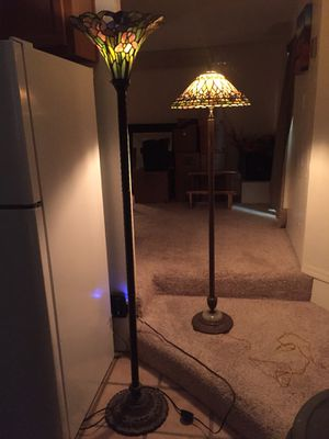 Two Tiffany style lamps for Sale in Payson, AZ