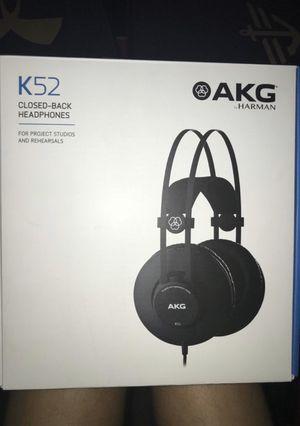 AKG K52 STUDIO HEADPHONES for Sale in Portland, OR