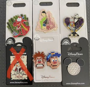$15 each Disney Trading Pins collectible | Assortment | Walt Disney for Sale in Lancaster, CA