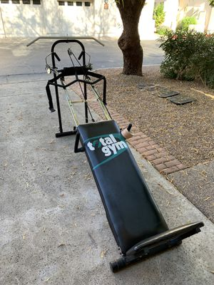 Total gym with tons of attachments for Sale in Scottsdale, AZ