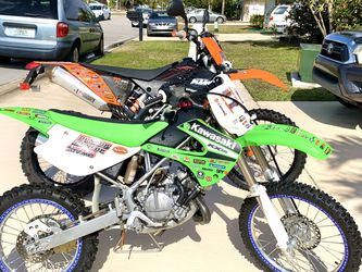 KTM EXC 450 2009 / KX 100 2007 for Sale in Boca Raton,  FL