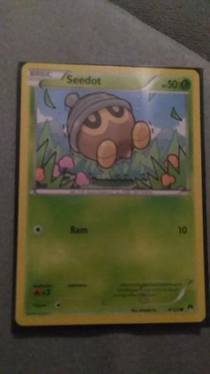 Seedot Pokemon card for Sale in Harrisonburg, VA