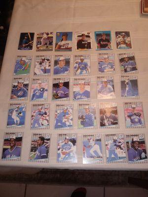 25 Fleer baseball cards 1987 to 1992 for Sale in Glendale, AZ