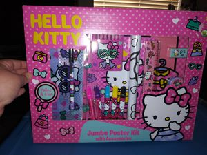 HELLO KITTY JUMBO POSTER $5 GREAT FOR CHRISTMAS GIFT for Sale in Covina, CA