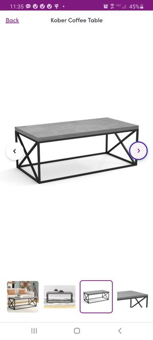 Brand new Coffee table S&CO selling with $80 for Sale in Newcastle, WA