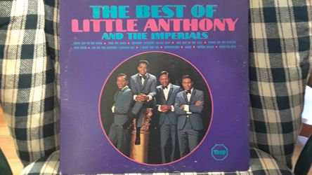 60,s album Little Anthony and the lmperials for Sale in Loganville,  GA